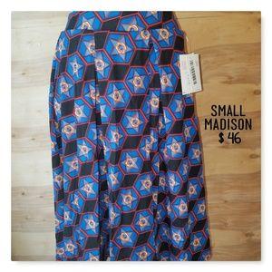 LuLaRoe Madison SMALL NWT CUTE skirt!